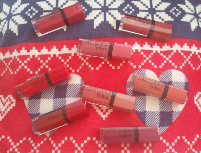 bourjois matte lipsticks