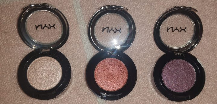 nyx eyeshadow review