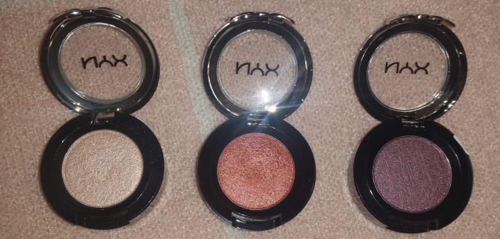 nyx eyeshadow review