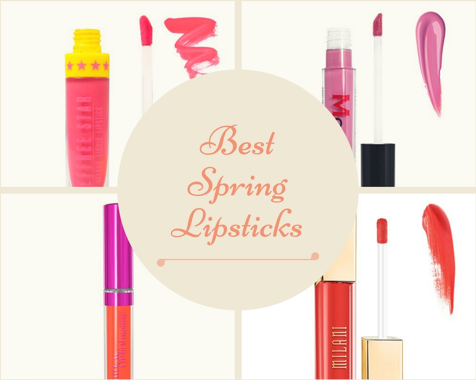 the best lipstick shades for spring