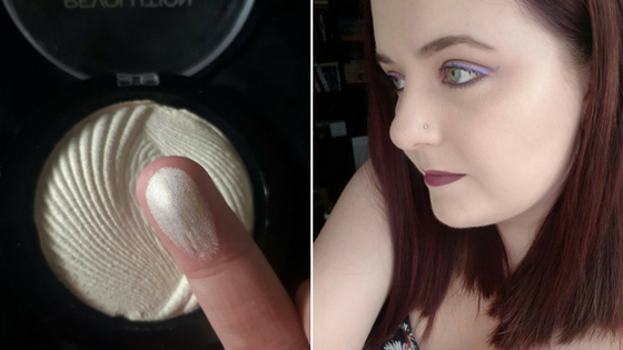 makeup revolution baked highlighter review