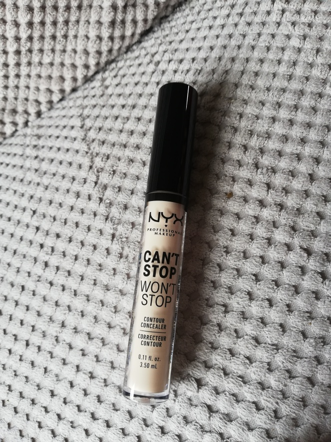 nyx cant stop wont stop concealer review